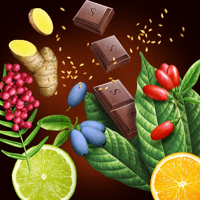 Illustration for chocolate.